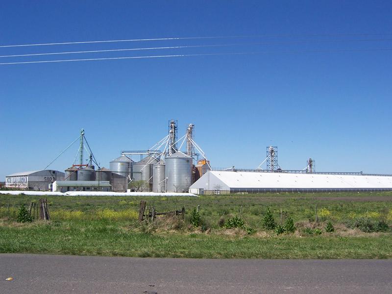 Acopio y procesamiento de cereales