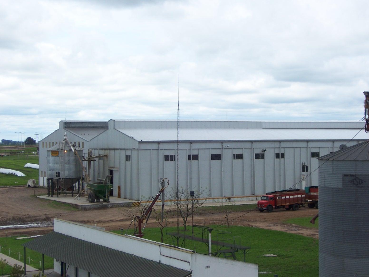 Centro de procesamiento y distribución
