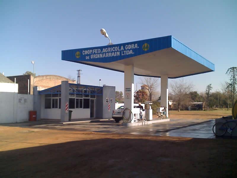 Estación de servicio y despacho de combustibles